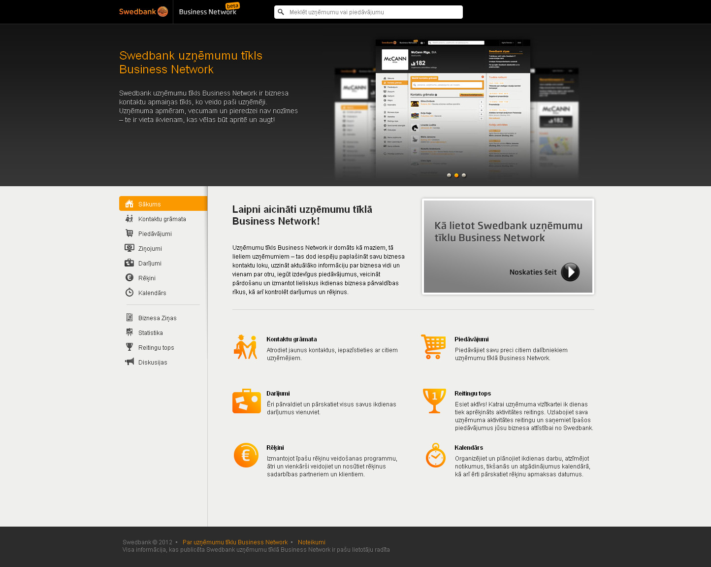 Swedbank business network